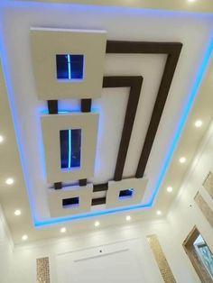 House Floor Design, House Ceiling Design, Ceiling Design Living Room, Tv Wall Design, Pop Design, Home Room Design, Gate Design, Design Ideas, Drawing Room Ceiling Design