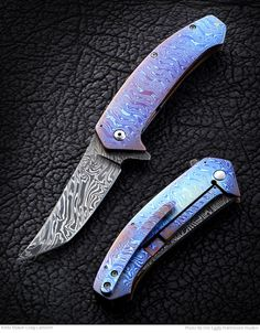 Learn how to make knives and use knives, find custom knives and knifemakers, and learn how to sharpen knives from Blade Magazine. Custom Knives, Folding Knives, Survival Gear, Edc, Bones, Hobbies, Rings For Men, Tips, Men Rings