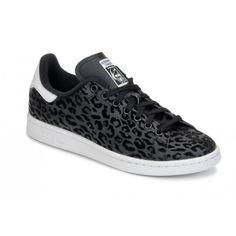 adidas stan smith bianco / nero a zig - zag primavera 2016!scarpa