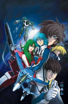 Robotech!!! Max and the whole crew