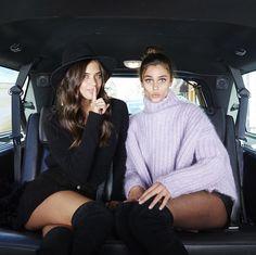 Sara Sampaio & Taylor Marie Hill - Victoria's Secret 2015 | Behind the Scenes.