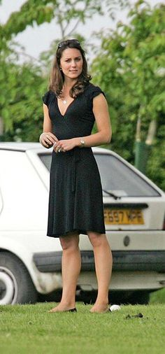 Kate Middleton and Topshop Split Wrap Jersey Dress
