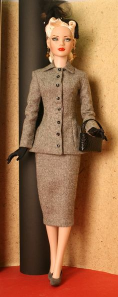 50's style wool suit Fashion by Ayal Armon