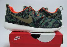 Nike Roshe Run Tiger Camo 1