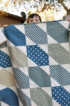 orange you glad: quilt - an idea for charm squares?...