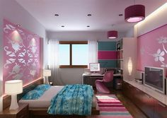 Pink and Blue Bedroom Designs   Better Home and Garden