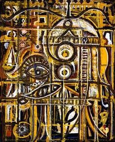 Abstract Eye - Richard Pousette-Dart