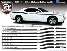 Dodge Challenger Stripes