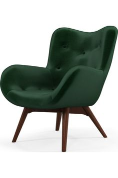 MADE.COM Fauteuils Accent Vert Teal Accent Chair, Accent Chairs, Funky Chairs, Sofa Sale, 2 Seater Sofa, Bed Storage, Living Room Sofa, Black Wood, Blue Velvet