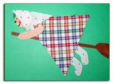 Gör en flygande häxa Lentävä noita kangastilkuista ja papereista. Söpöliini! Fun Fall Activities, Halloween Activities, Easter Art, Easter Crafts, Blogg, Art For Kids, Kid Art, Little People, Pre School