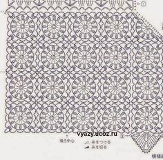 Вязание крючком Шаблоны для Попробуйте: Бесплатные вязания Графики и объяснение Vintage Timeless Vest