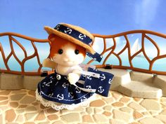https://flic.kr/p/Ukx39N | Sylvanian Families - Maple Cat Girl - Seaside