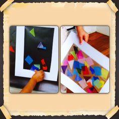 Oficina Virtual: Crianças fazendo arte pelo mundo! Vitral Italiano.