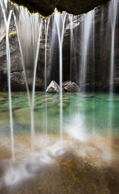 Magic from the depths of Maligne Canyon, Jasper National Park.