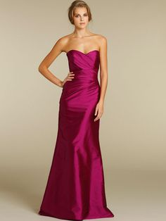 Cheap Designer 2012 Fuschia Taffeta Spring Bridesmaid Dress with Strapless Sweetheart Neck on Sale! Buy Designer 2012 Fuschia Taffeta Spring Bridesmaid Dress with Strapless Sweetheart Neck at FoxGown Now! Peacock Bridesmaid Dresses, Raspberry Bridesmaid Dresses, Hot Pink Bridesmaids, Taffeta Bridesmaid Dress, Strapless Dress Formal, Prom Dresses, Wedding Dresses, Bridesmaid Ideas, Dress Prom