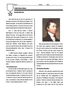 1000 images about u s history chapter 8 on pinterest james monroe worksheets and presentation. Black Bedroom Furniture Sets. Home Design Ideas