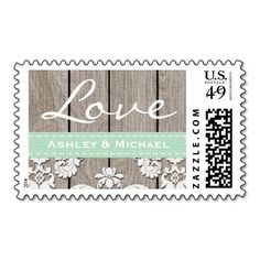 110 Best Wood Wedding Stamp Label Sticker Images On Pinterest