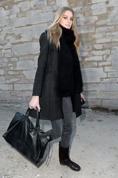 love this sleek look, just not in the summer.