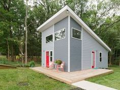 Keyo Tiny House in Charlotte North Carolina - Exterior