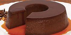 Pudim de Chocolate de Liquidificador…MUITO FÁCIL DE PREPARAR! | Receitas Do Céu