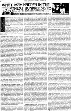 Predictions Of What 2011 Would Be Like From A 1911 Newspaper- will have a read later Read Later, The Incredibles, Interesting History, World History, Social Studies, American History, Native American, Just In Case, Fun Facts