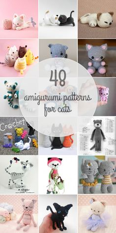 48 Cats Amigurumi Patterns
