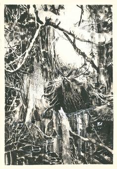 Swamp Thing by Bill Sienkiewicz.