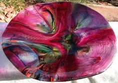 Before choosing one or more tie dye glass bowls for your decor, it's important to assess the color scheme of your surroundings and consider the placement in terms of the desired effect. Description from amusinglass.com. I searched for this on bing.com/images