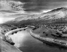 Los Angeles Aqueduct in Owens Valley, 1912. Los Angeles Public Library Image 34 of 48