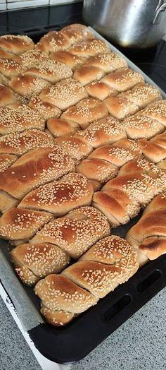 Greek Recipes, Sweet Bread, Hot Dog Buns, Apple Pie, French Toast, Sweets, Vegan, Cookies, Breakfast