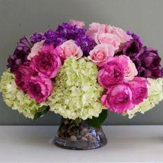 Roses, Peonies and Hydrangeas