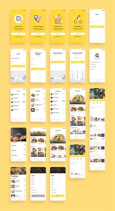 Foodiez Restaurant App UI Kit — UI Place Foodiez Restaurant App UI Kit is a pack of 40 delicate UI design screen templates that will help you to design clear interfaces for restaurants app faster and easier. Compatible with Sketch App, Figma & Adobe XD Ios App Design, Mobile Ui Design, Android App Design, Android Ui, Android Watch, Dashboard Design, User Interface Design, Mobile App Design Templates, Web And App Design