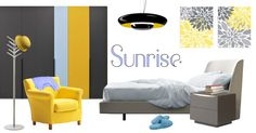 Moodboard Sunrise - contemporary bedroom | @lagofurniture @EstandSons @lemamobili #designbest |