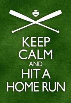 オールポスターズの「Keep Calm and Hit a Home Run Baseball Poster」アートポスター Home Run Baseball, Baseball Dugout, Baseball Playoffs, Baseball Scores, Baseball Posters, Baseball Training, Sports Baseball, Kids Sports, Baseball Stuff