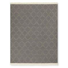 Tetris Tile Flatweave Rug, Grey #williamssonoma