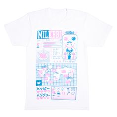 comic strip tee from milkbbi shop!!!