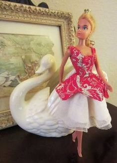 Image result for ballerina barbie in aurora outfit 1976