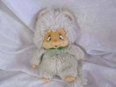This was my all-time favorite toy.  Still have him.  He's a Nyamy.  He's been with me to college, Australia, Japan, Malaysia & Canada.  Mine is looking a bit rougher than the one in this pic, but I've been dragging him everywhere since I was 3, so...