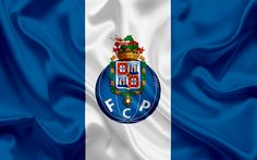 Download wallpapers Porto, Football club, Portugal, football, Portuguese football club, Porto FC