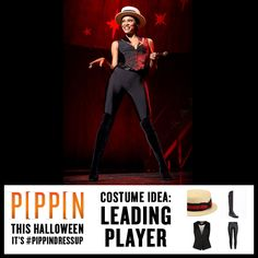 This Halloween, it's #PippinDressUp! Recreate the look of the Leading Player using the pins from this board. If you find anything or if you dress up, tag your pins with #PippinDressUp.