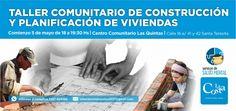 Taller comunitario de construcción y planificación de viviendas en Santa Teresita - Noticias