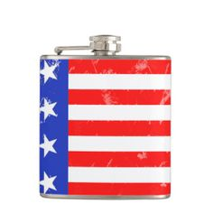 *I Love America Collection Flask