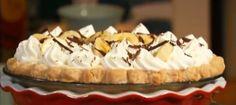 Nininha na Cozinha: Torta de Banana com Creme do Buddy