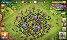 Coc my farming th 8