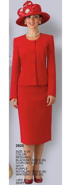 Lily and Taylor 2920 Women Church Suits, Suits For Women, Mens Suits, Sunday Clothes, Glamorous Dresses, Church Dresses, Career Wear, Designer Collection, Peplum Dress