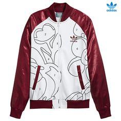 CHAQUETA. El sorprendente estampado de esta chaqueta para mujer le da un toque actual a un diseño clásico. Se ha confeccionado con mangas de raso y el emblemático cuello alzado. Presenta bolsillos verticales en contraste que le dan el toque urbano definitivo. adidas Track Top AY7128 http://www.srbalon.com/colecciones-5041/adidas-track-top-ay7128
