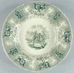 Soup bowl, ca. 1834-44 | The Museum of Fine Arts, Houston