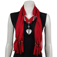 Charm Scarves are really HOT.  Check out Cindy's DooDads.  If we don't have them we can order them!
