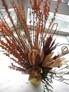 Small Dry Flower Arrangement