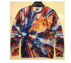 """bluza """"galaxy cat"""" znaleziona  na  wish.com"""